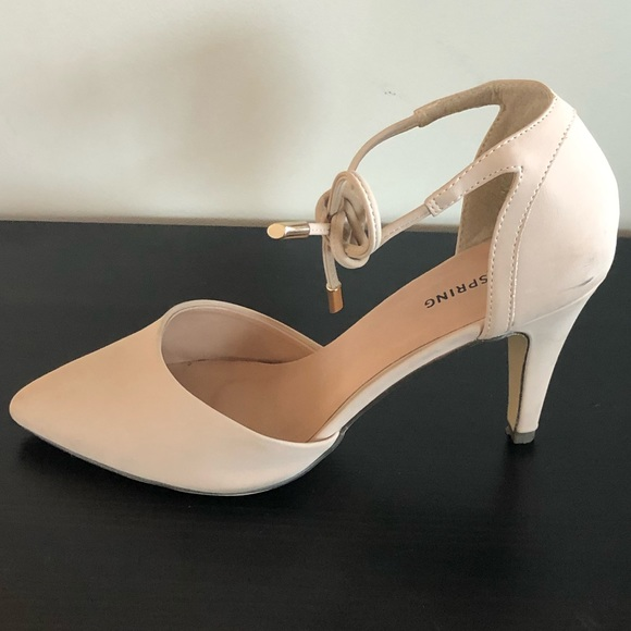 Steve Madden Shoes | Chunky Nude And Burnt Red Orange